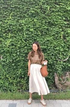 Myeverything-linen skirt