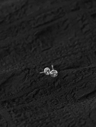 crushed mini earrings