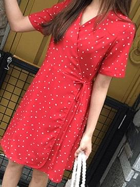 Darling heart rap dress