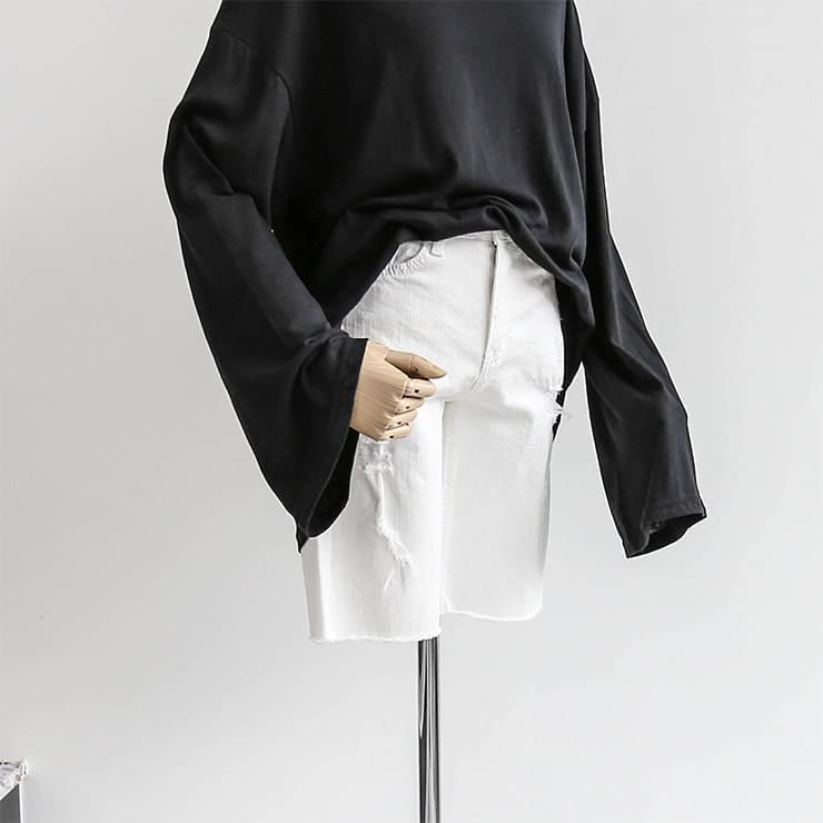 Distroid Denim Jeans Shorts _swpt02511