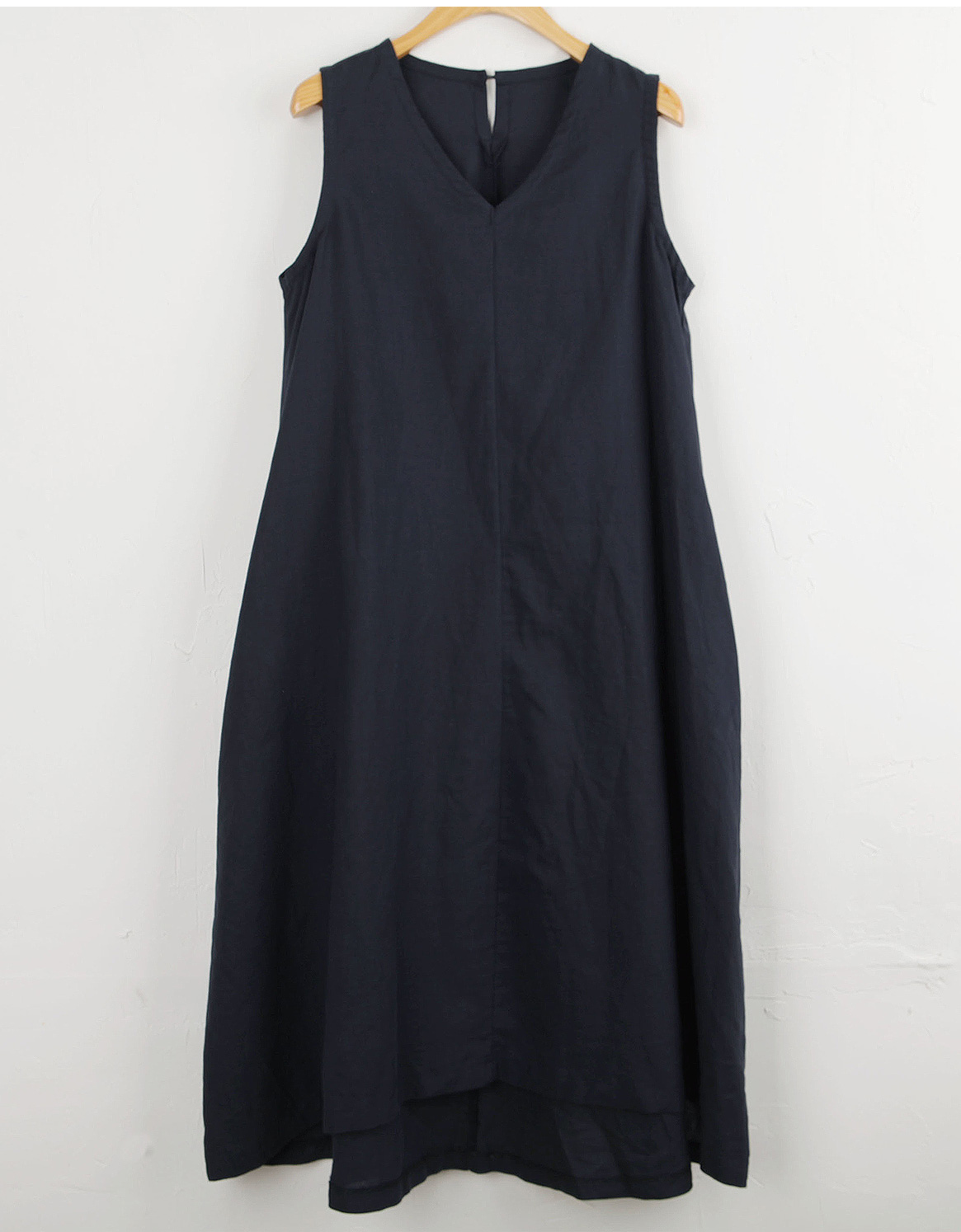 Perfect size! V linen dress