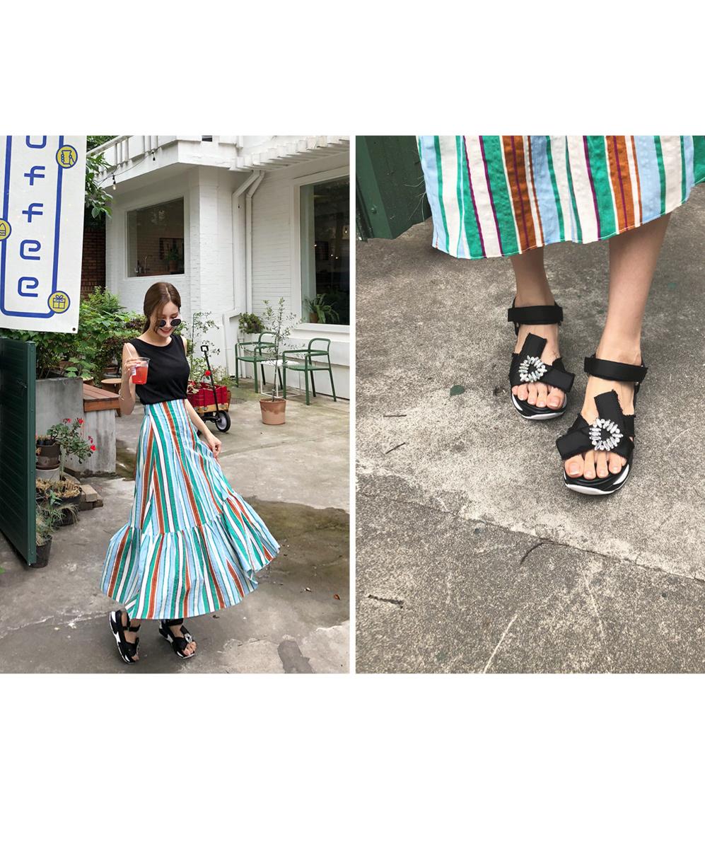 Cubic pretty shoes