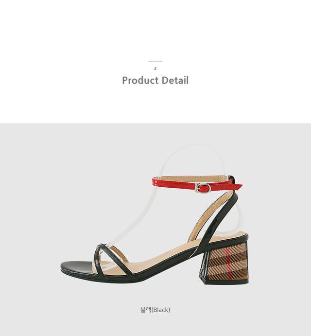 Burite strap sandals 5cm