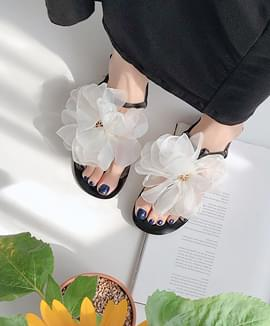 Mongle Mongle Flower Sandals 1.5cm