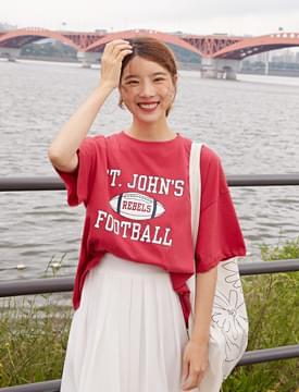 Football vintage T_K (size : free)