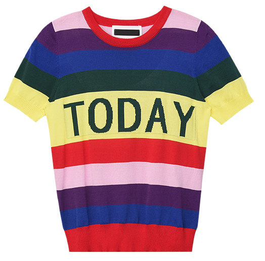 Today Rainbow Knit