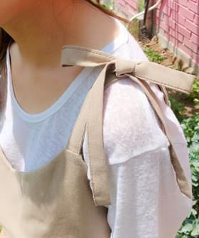 Cloud cloud linen short sleeve T