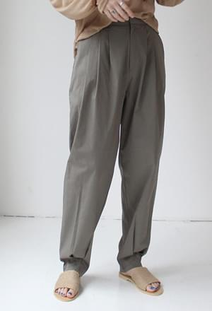 Cotton jogger pants (3color)