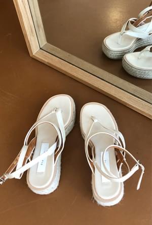 Stylish wedge shoes