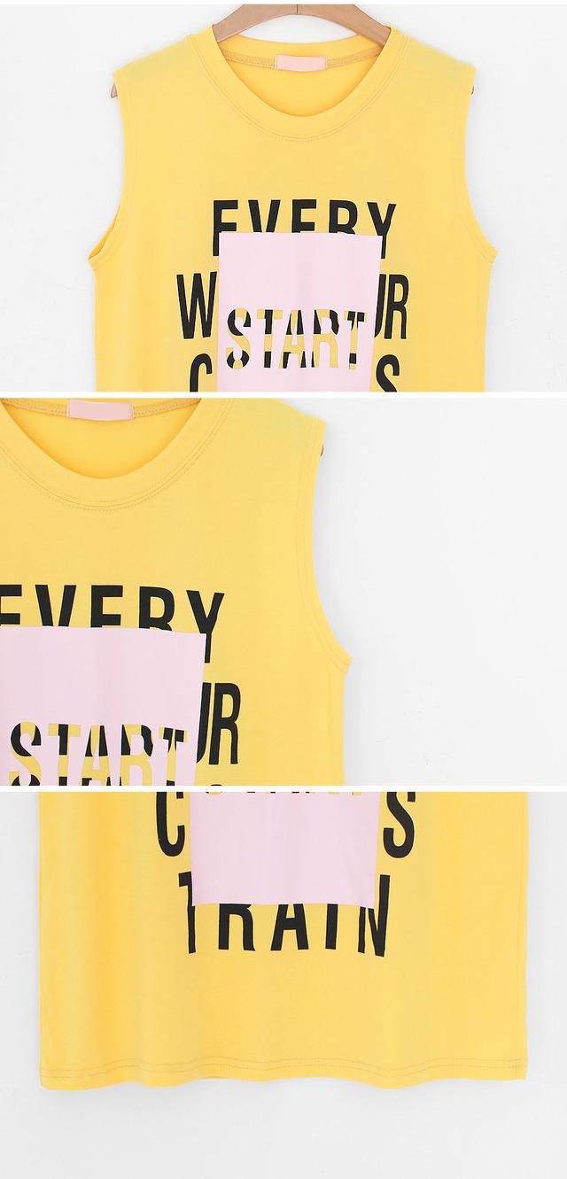 Ethane sleeveless shirt