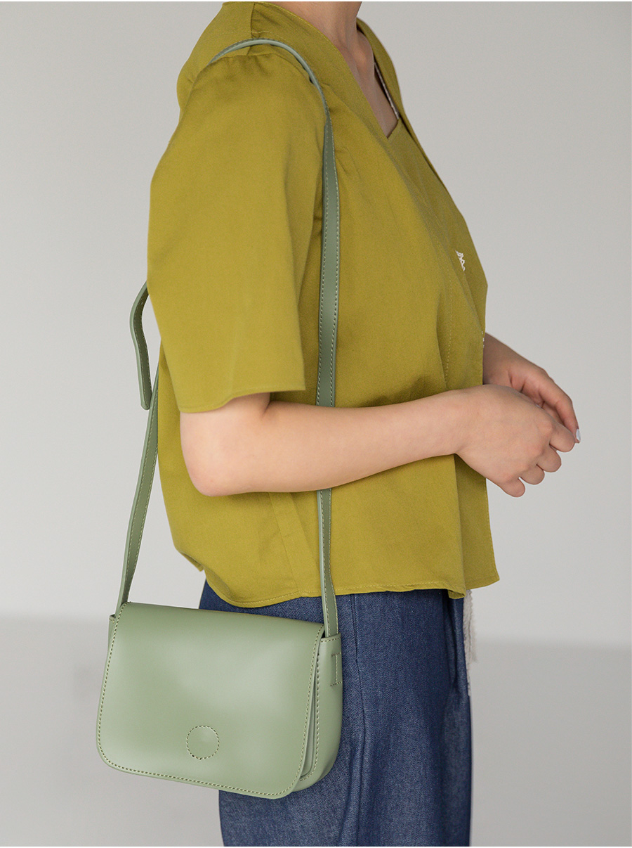 stitch rounding square bag