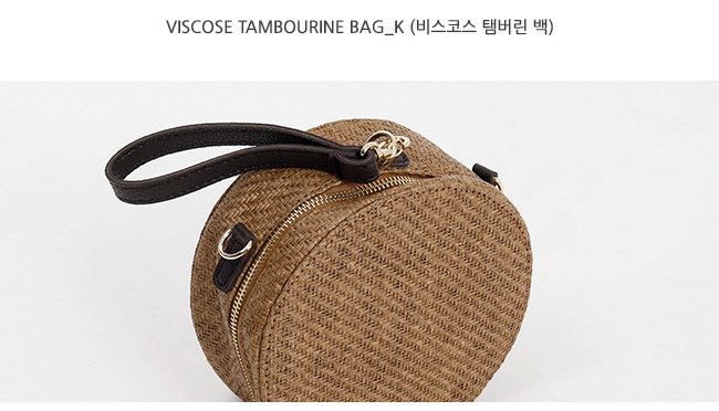 Viscose tambourine bag_K (size : one)