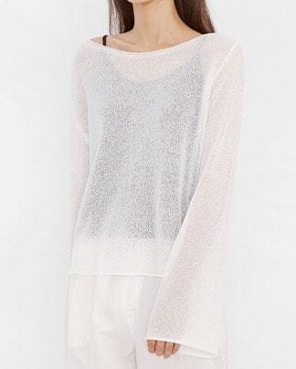 sora summer see-through knit