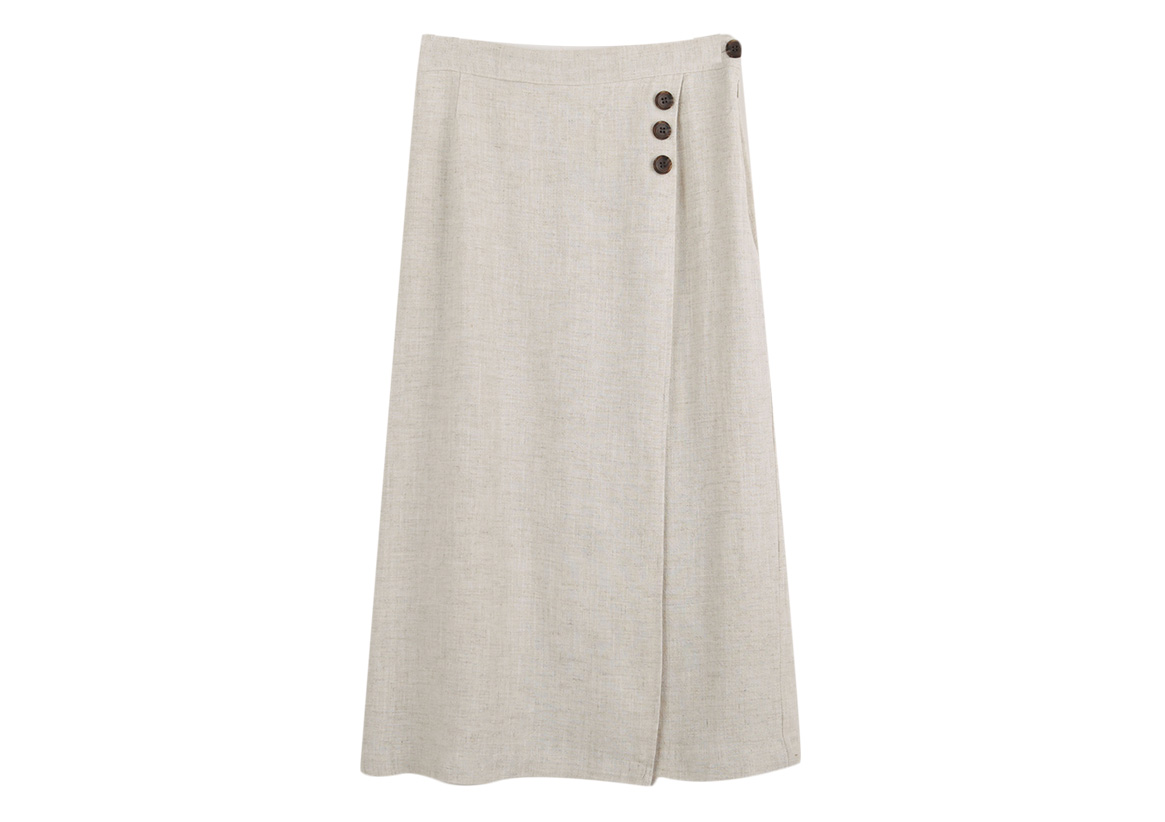 Relieved to wind it :) Natural skirt