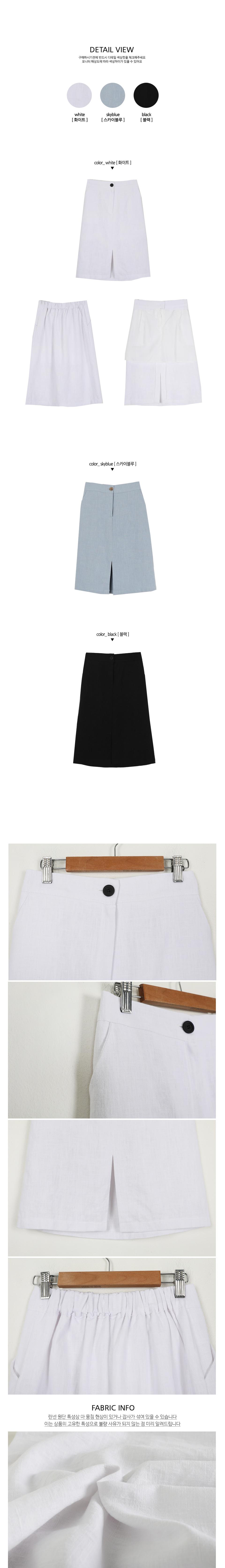Climbing Linen Skirt