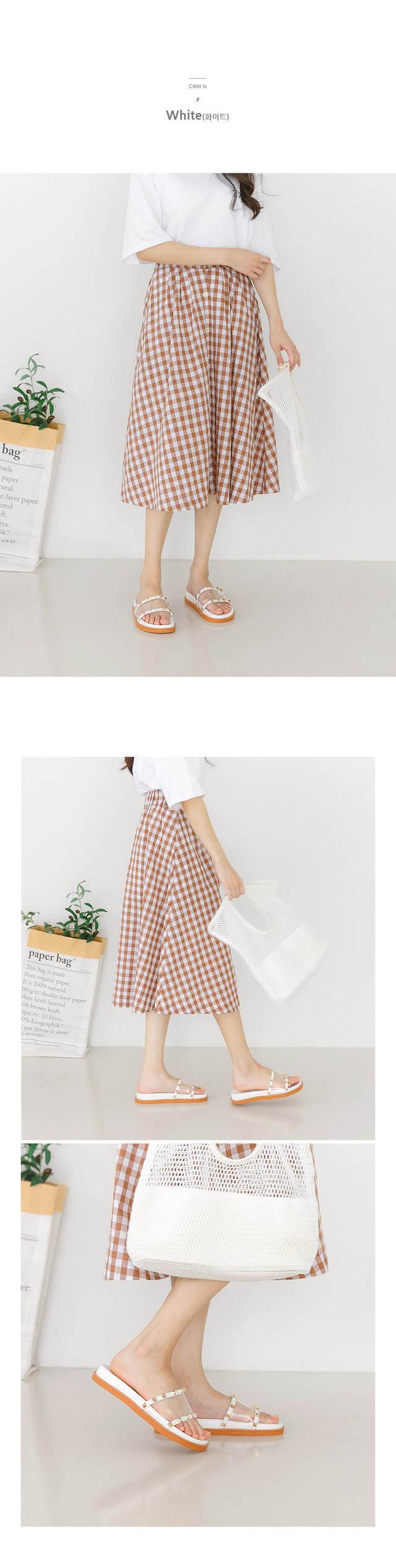Lent PVC slippers 3cm