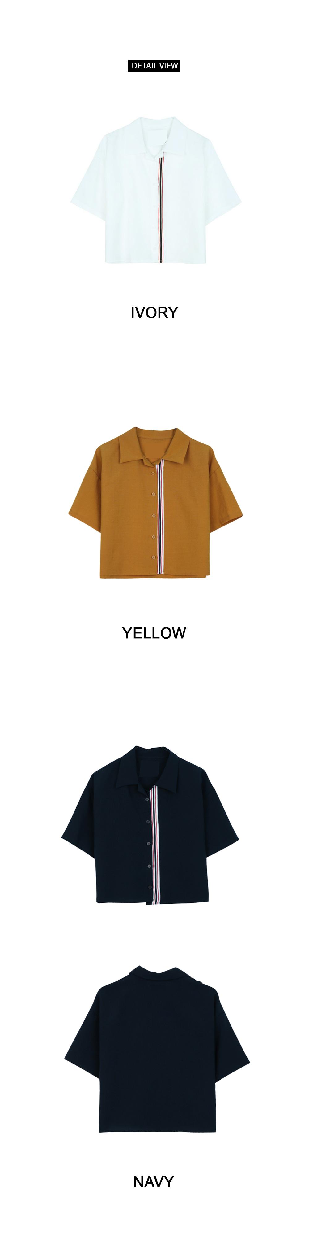 Left-line shirt