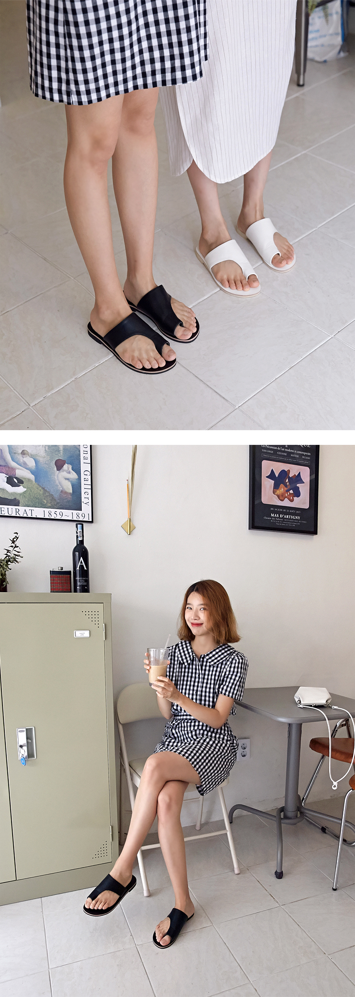 Cynical simple slipper_S (size : 230,235,240,245,250)