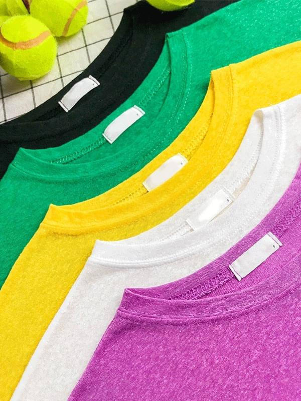 Color soft beach long sleeved tee