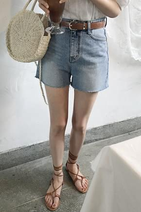 Crunch Denim Shorts - M, L ships same day