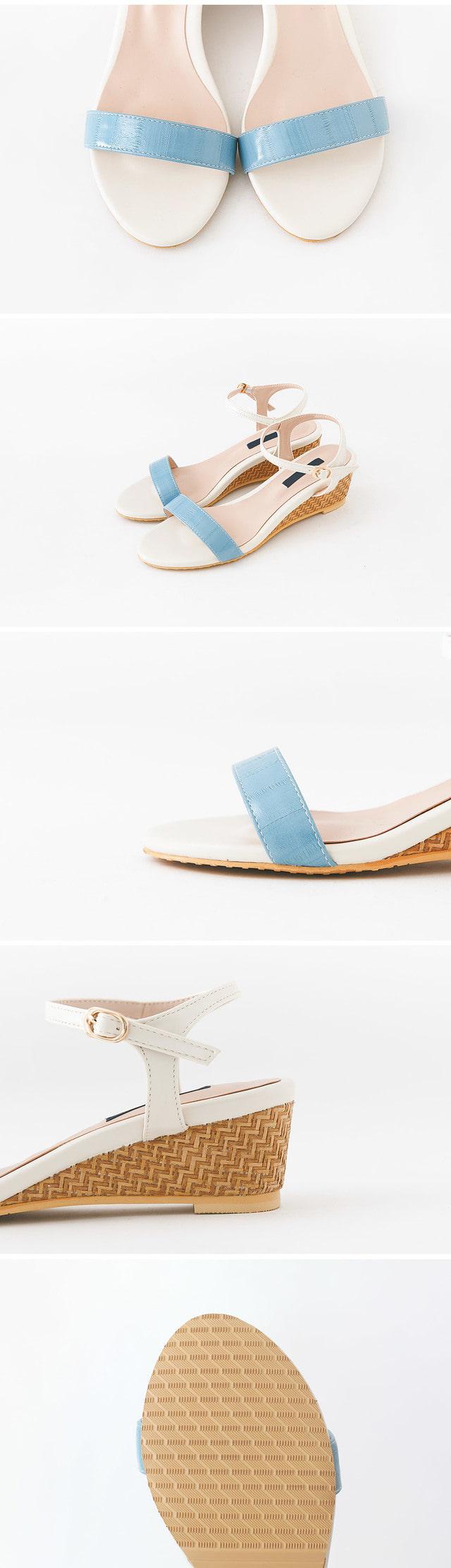 Wedgehole sandals 5cm