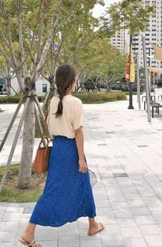Bluedot-dot skirt