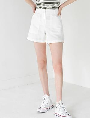 big pocket high waist shorts