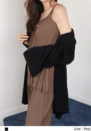 COOLING LOOSE FIT CARDIGAN