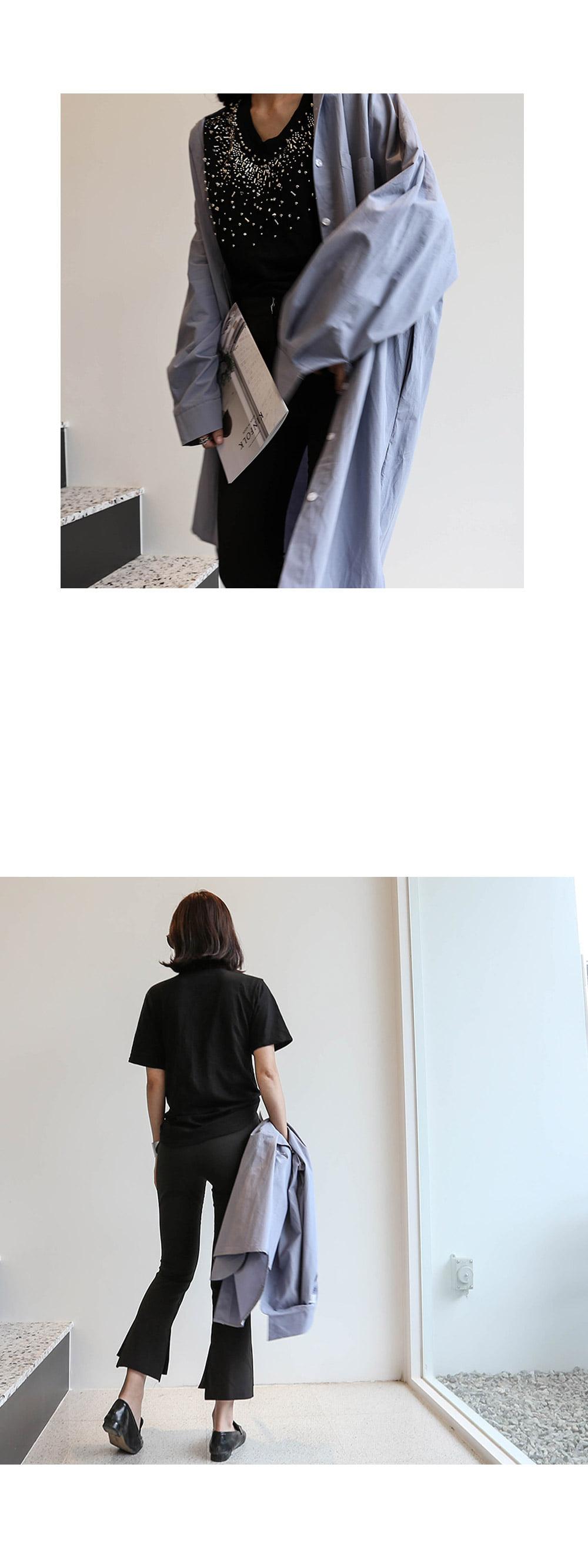 O Buffett Basic Long Shirt _bl02565