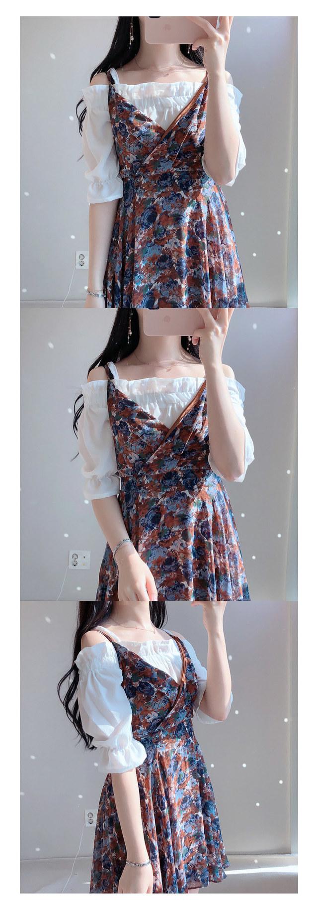 Basic off shoulder ♥ blouse