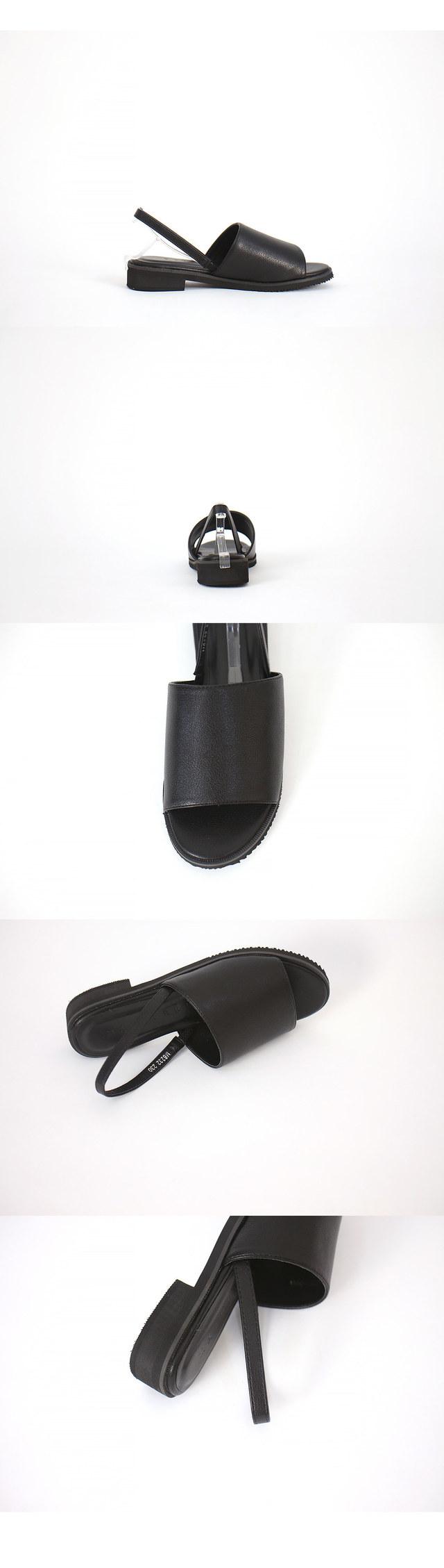 Simple Slingback Flat Sandals