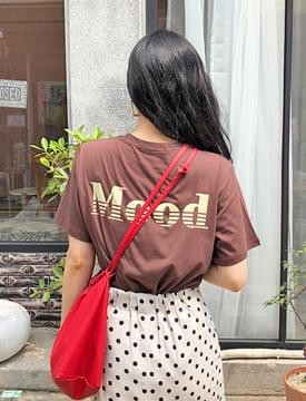 Mood cotton print T_K (size : free)