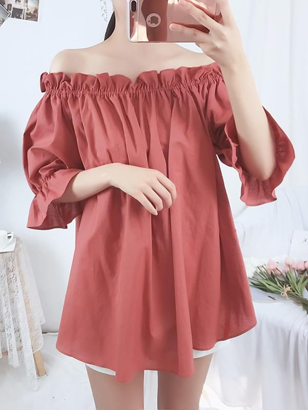 Midnight off blouse