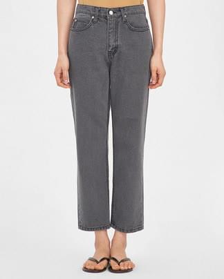clean dark denim pants (s, m)