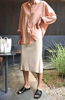 Bionic-summer knit skirt