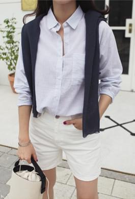 Summer striped shirt