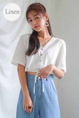 String Mini Blouse
