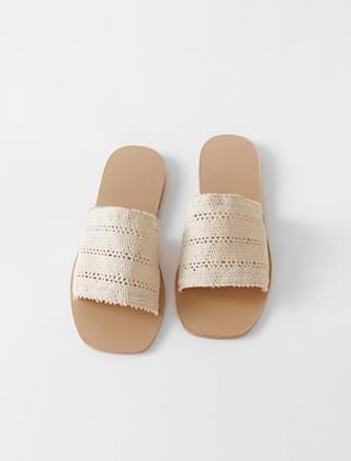 various weave slippers (4colors)
