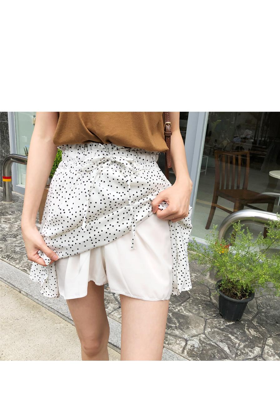 Dot daily skirt