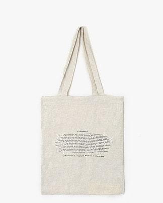 find linen eco bag