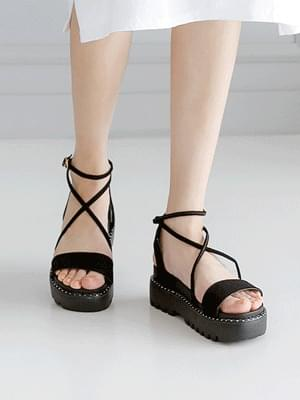 Holt strap sandals 5cm