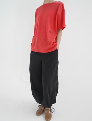 monochrome string pants (type N)