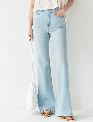 trendy slim boots-cut jean