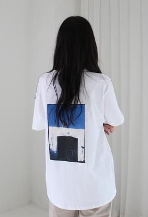Photo back printing tee