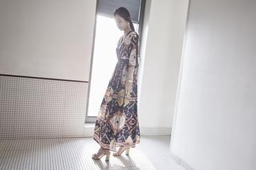 Ethnic Long Dress_op01077