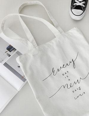 Day Lettering Eco Bag