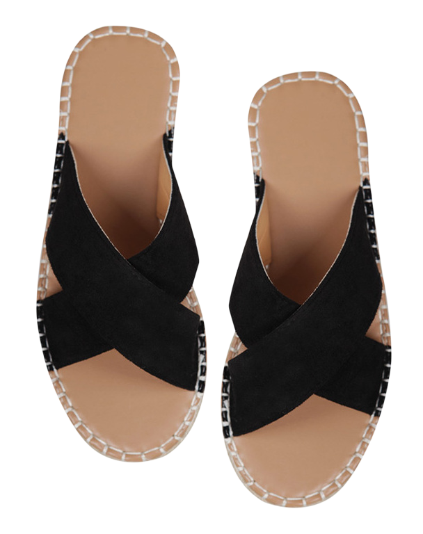 10% off 4.8 cm heel !! Wedge slipper