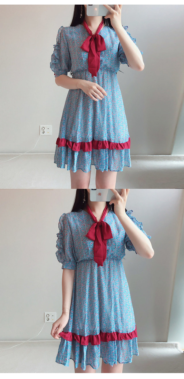 Ribbon string set jelly flower color ♥ ops