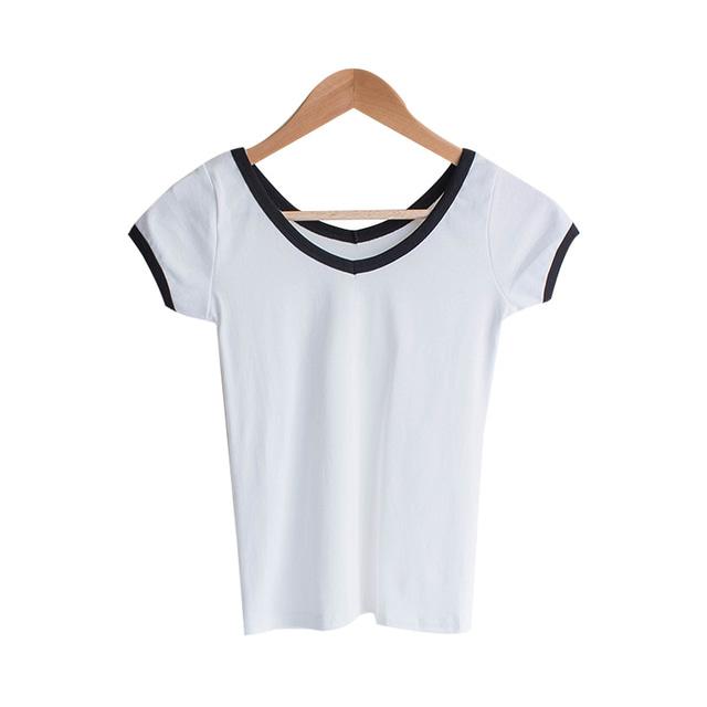 Collective V-neck T-shirt