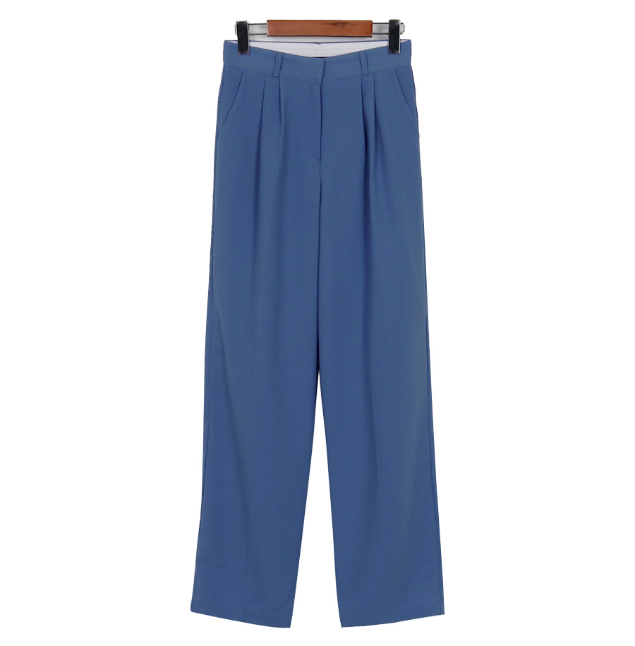 Wonder pin-tuck loose slacks_S (size : S,M,L)